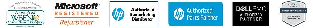 Big Blue Products Certification Badges Header