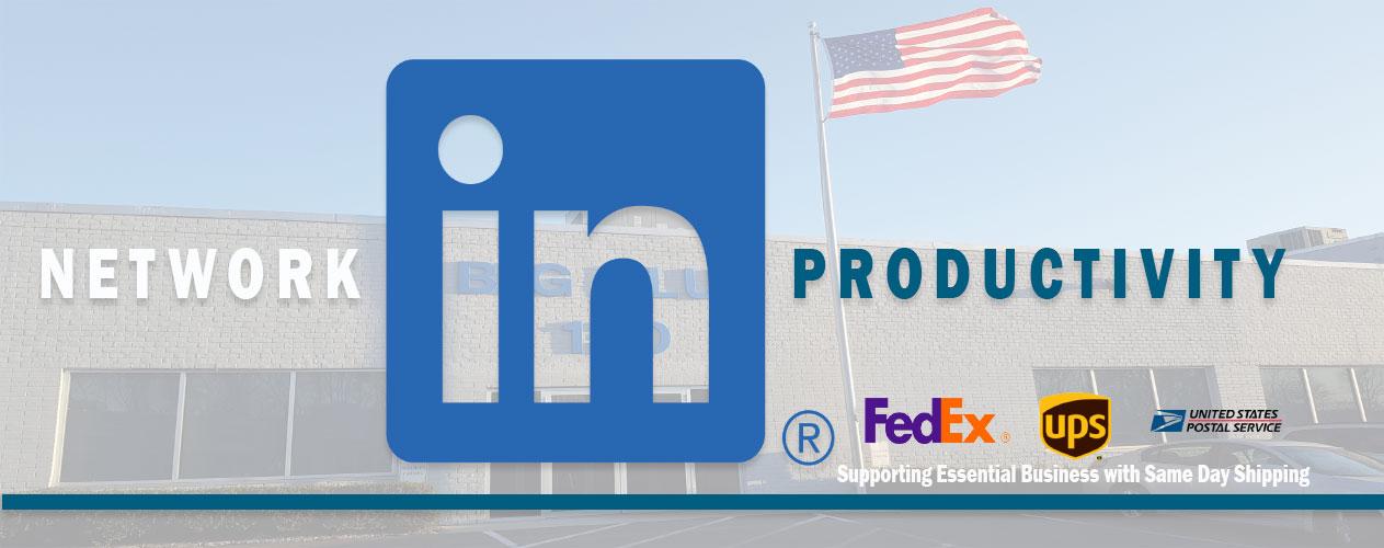 Follow Big Blue Products on LinkedIn