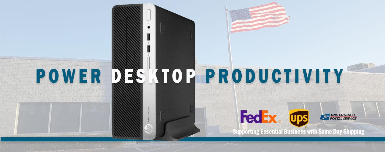 HP Elite Desktops at Big Blue Products