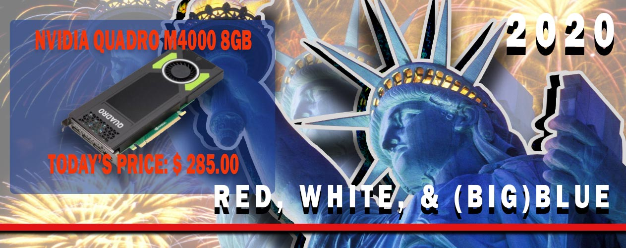 Red, White, & (big) Blue Sales Event from Big Blue Products