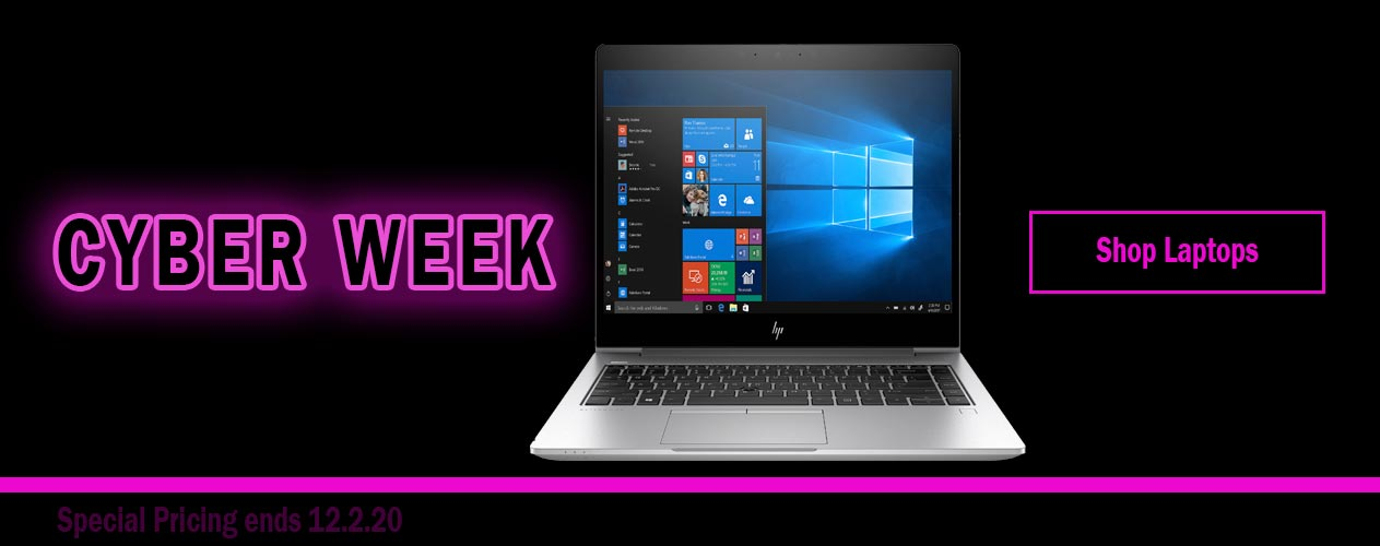 Shop Laptops All Cyber Week with Big Blue Products