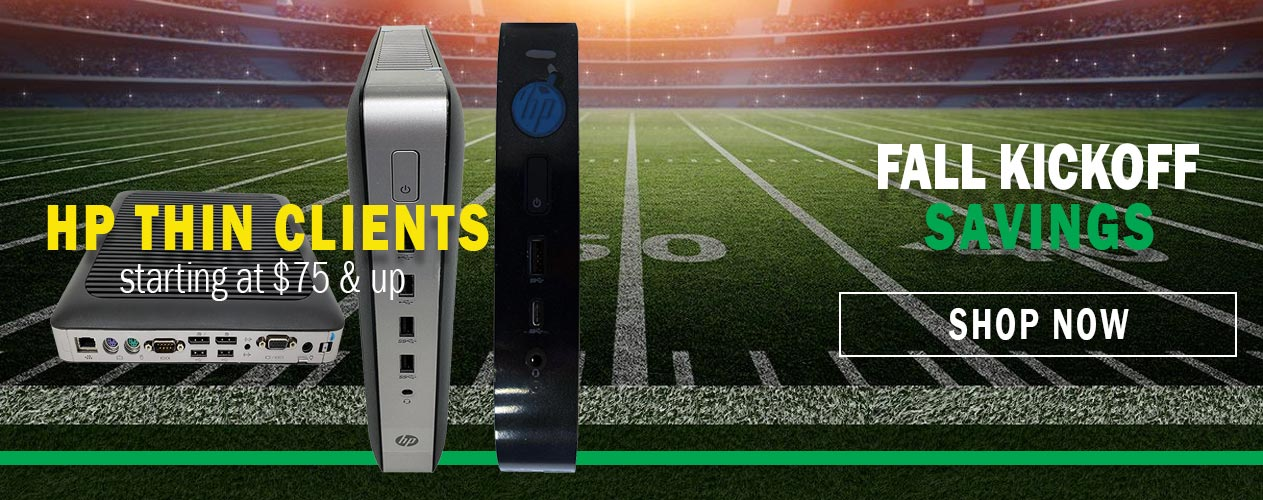 Shop THin Clients: Fall Savings with Big Blue Products