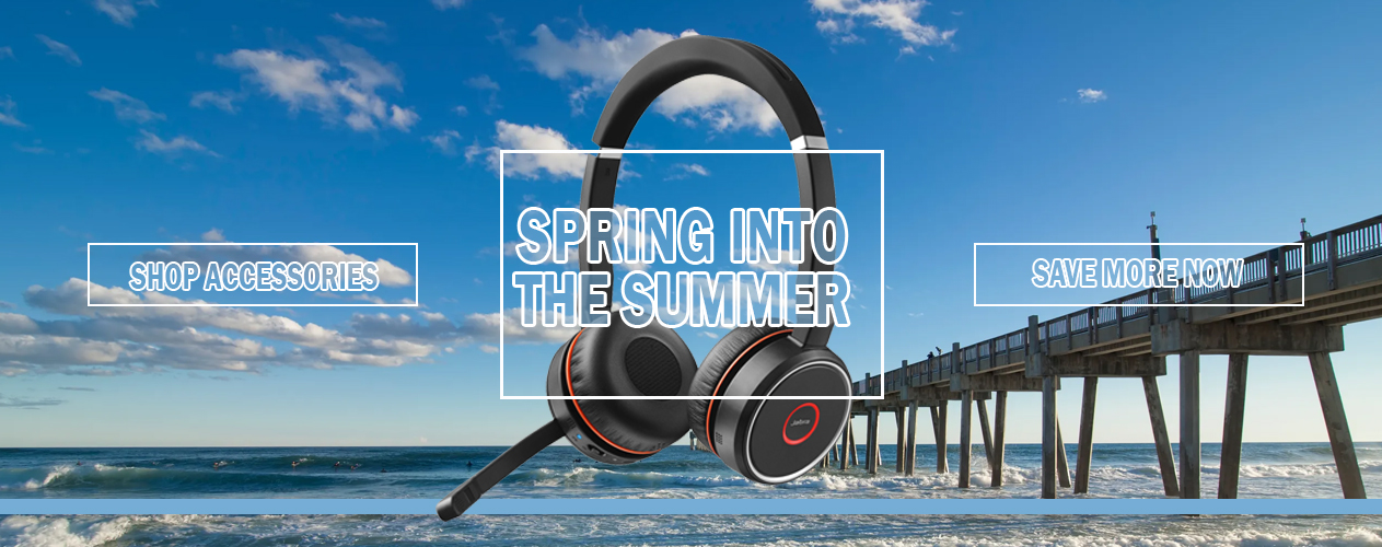Spring into Summer with Jabra Wireless Headset from Big Blue Products