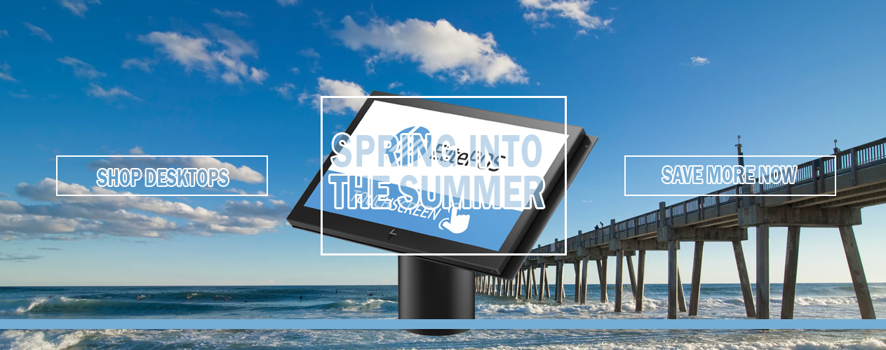 Spring into Summer with HP ELITEPOS 141 G1 from Big Blue Products