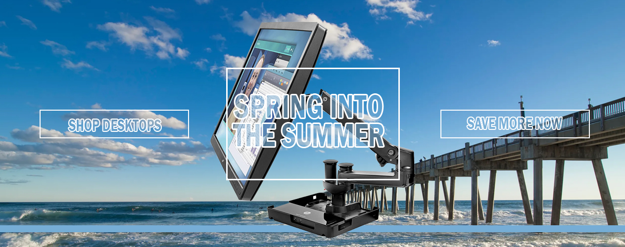Spring into Summer with HP Hot Desk Stand from Big Blue Products