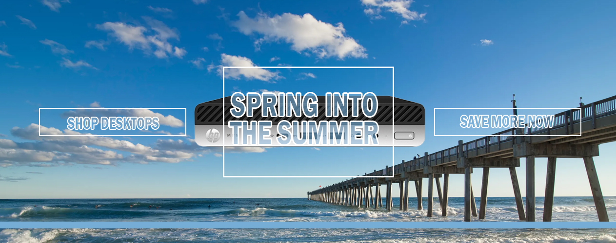 Spring into Summer with HP MP9 G4 DM from Big Blue Products