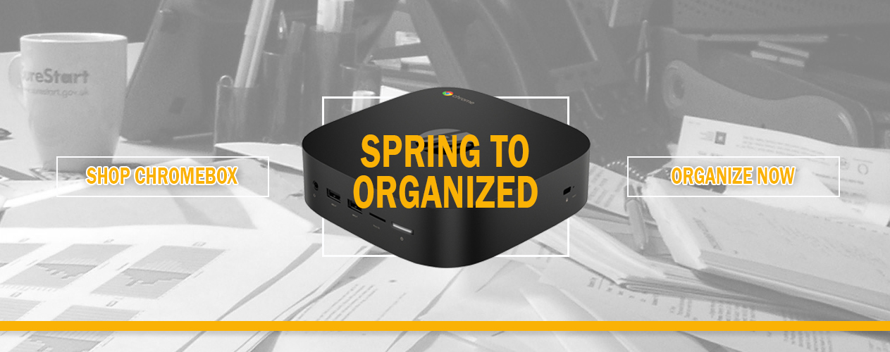 Spring to Get Organized with HP MiniBox and Small Forms from Big Blue Products