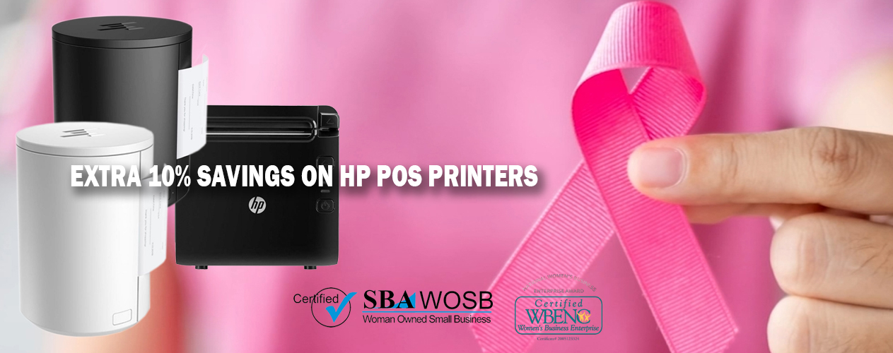 Save Extra 10% off All HP POS Printers with 6+ or More units on with Big Blue Products